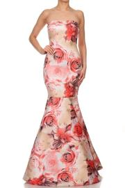 Gowntastic/VaVaVoom Mermaid Floral Gown - Product Mini Image