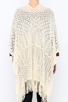 Grace & Lace Fringe Kimono - Alternate List Image