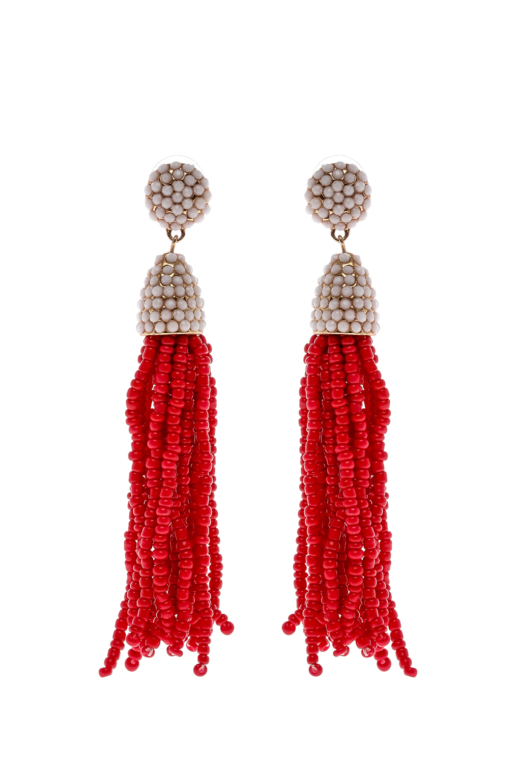 Grace & Emma Amelia's Tassel Earrings - Front Cropped Image