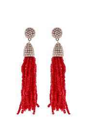 Grace & Emma Amelia's Tassel Earrings - Front cropped
