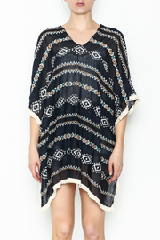 Grace & Emma Aztec Cover Up - Front full body