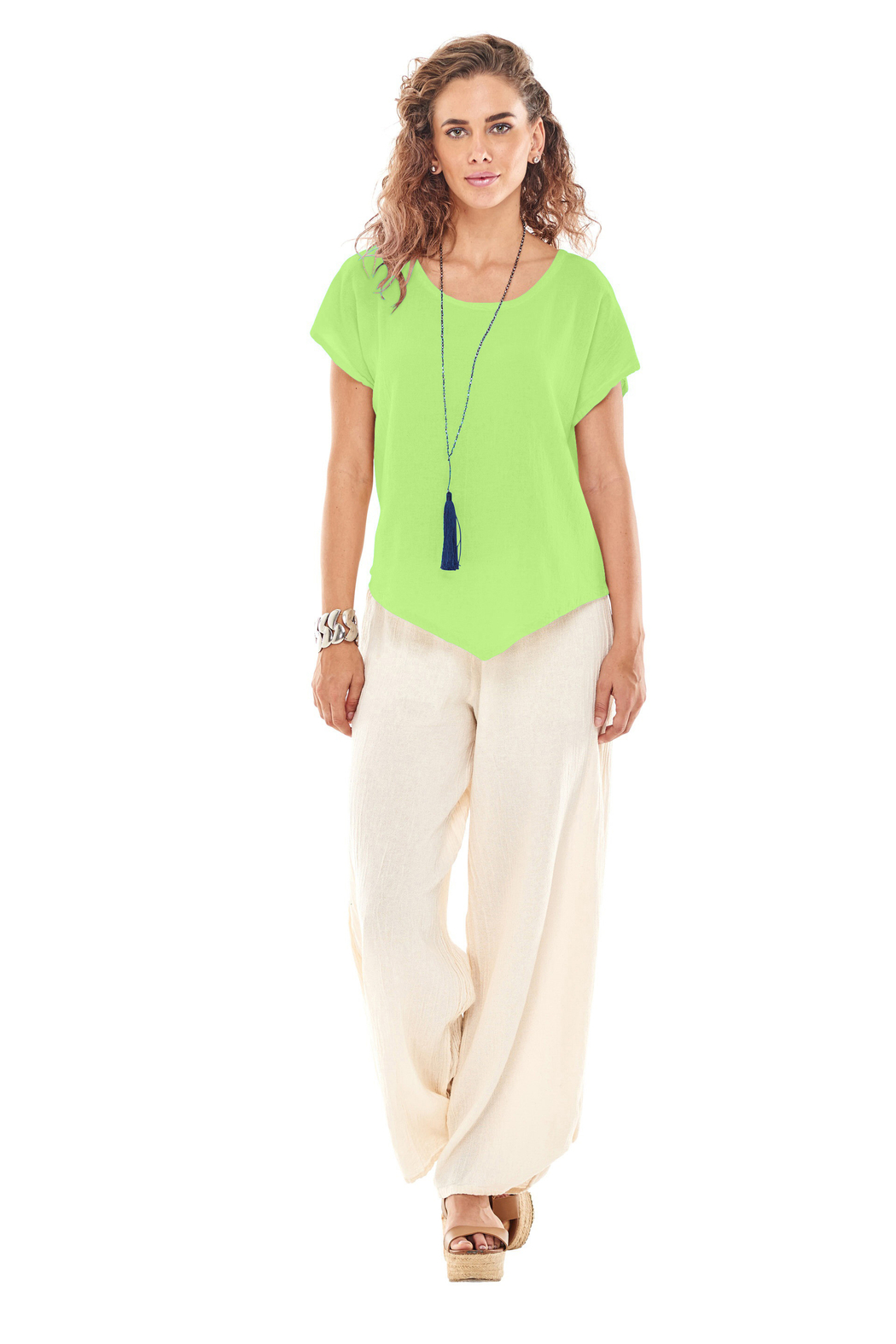 Oh My Gauze Grace Blouse - Front Cropped Image