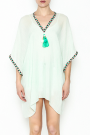 Grace & Emma Boho Cover-Up Top - Front full body