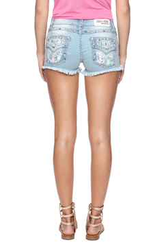 Grace in L.A. Floral Accent Shorts - Alternate List Image