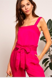Lucy Paris Grace Pink Top - Front cropped