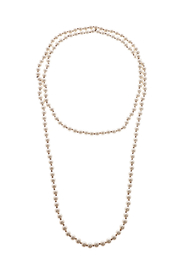 accessories jewelry necklaces long pearl necklace