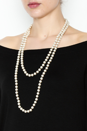 Southern Living Long Pearl Necklace - Product Mini Image