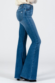 Black Orchid Denim Grace Super Flare Denim - Product Mini Image
