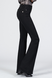 Black Orchid Denim Grace Super Flare Denim - Front cropped