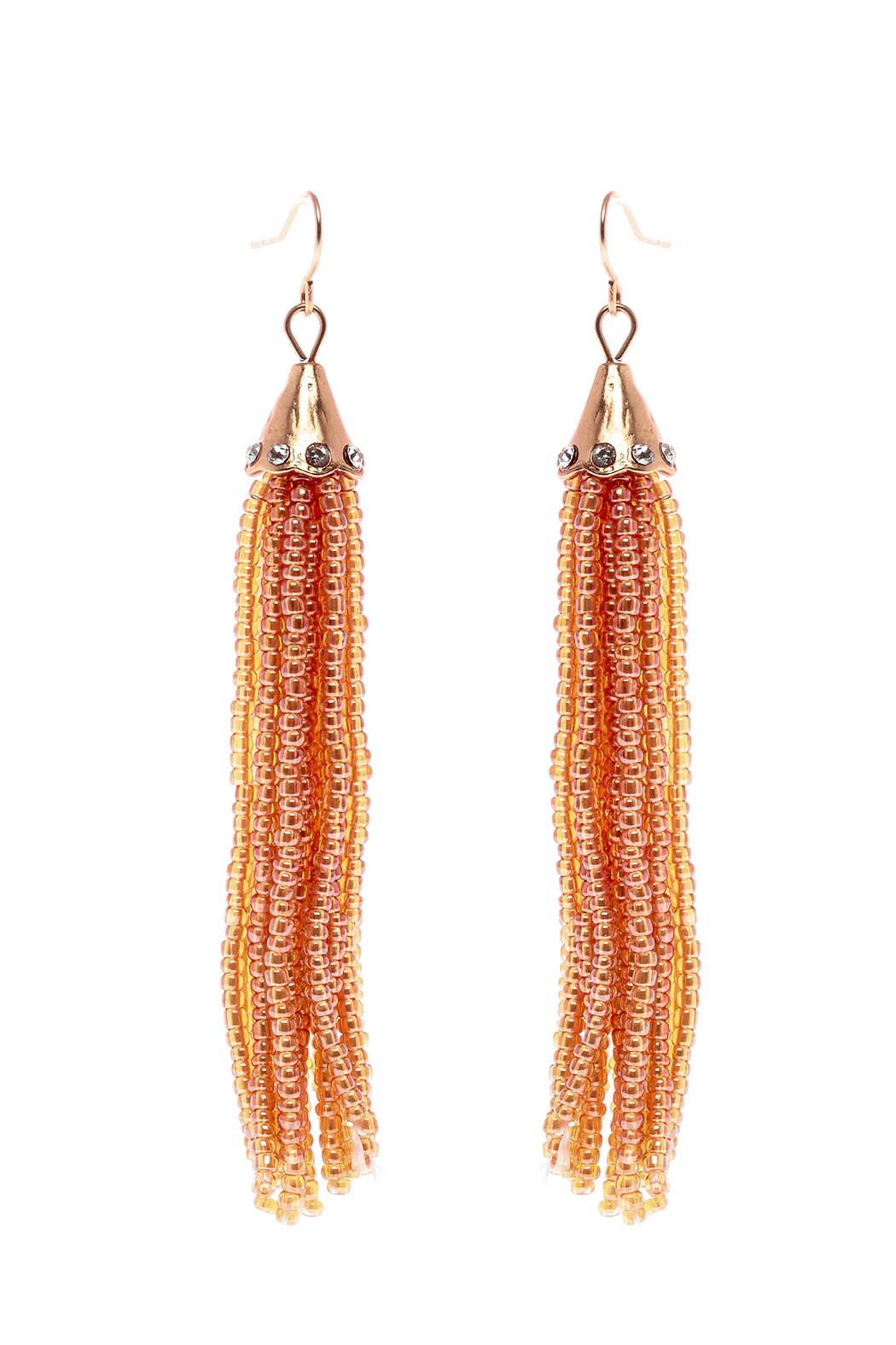 Grace & Emma Trinity's Tassel Earrings - Front Cropped Image
