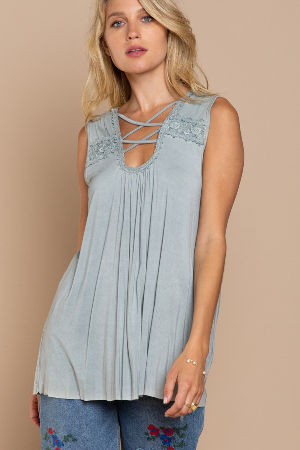 POL  Grace Tunic - Front Cropped Image
