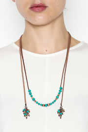 Grace & Emma Twist Wrap Necklace - Product Mini Image