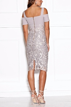 Grace & Hart Silver Lace Dress - Alternate List Image