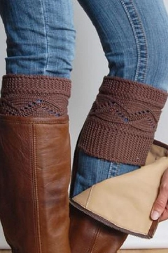 Grace & Lace Cableknit Boot Cuffs - Alternate List Image