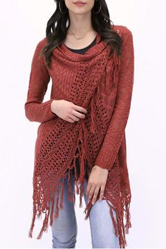 Shoptiques Product: Fringe Knit Cardigan