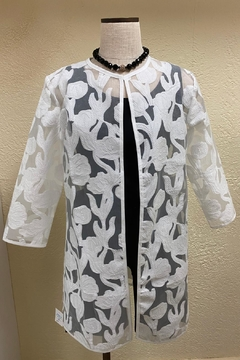 Grace Chuang Embroidered ¾ Coat - Product List Image