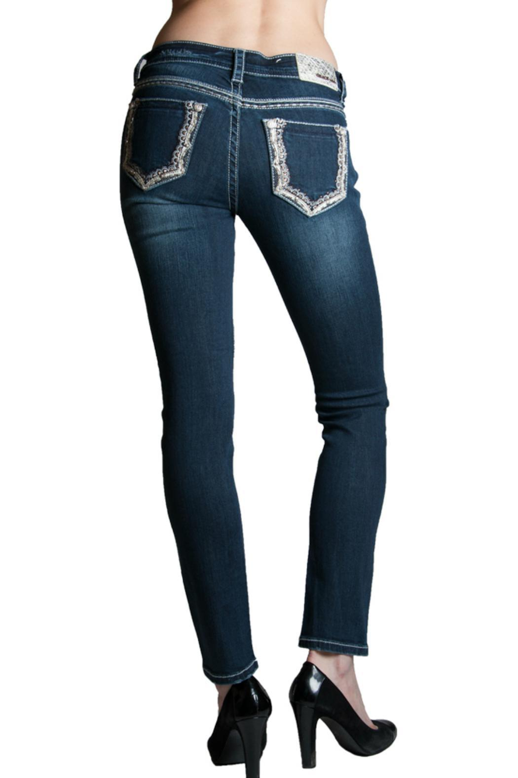 Grace in L.A. Pop Skinny Jean - Front Cropped Image