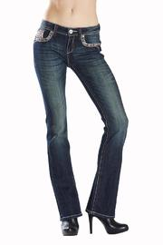 Grace in L.A. Electric Glitz Bootcut - Product Mini Image