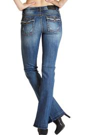 Grace in L.A. Fray Flap-Pocket Bootcut - Front cropped