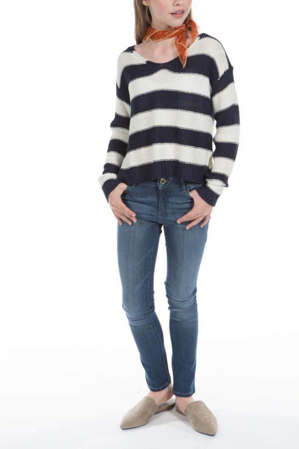 PPLA Gracen Knit Sweater - Front Cropped Image