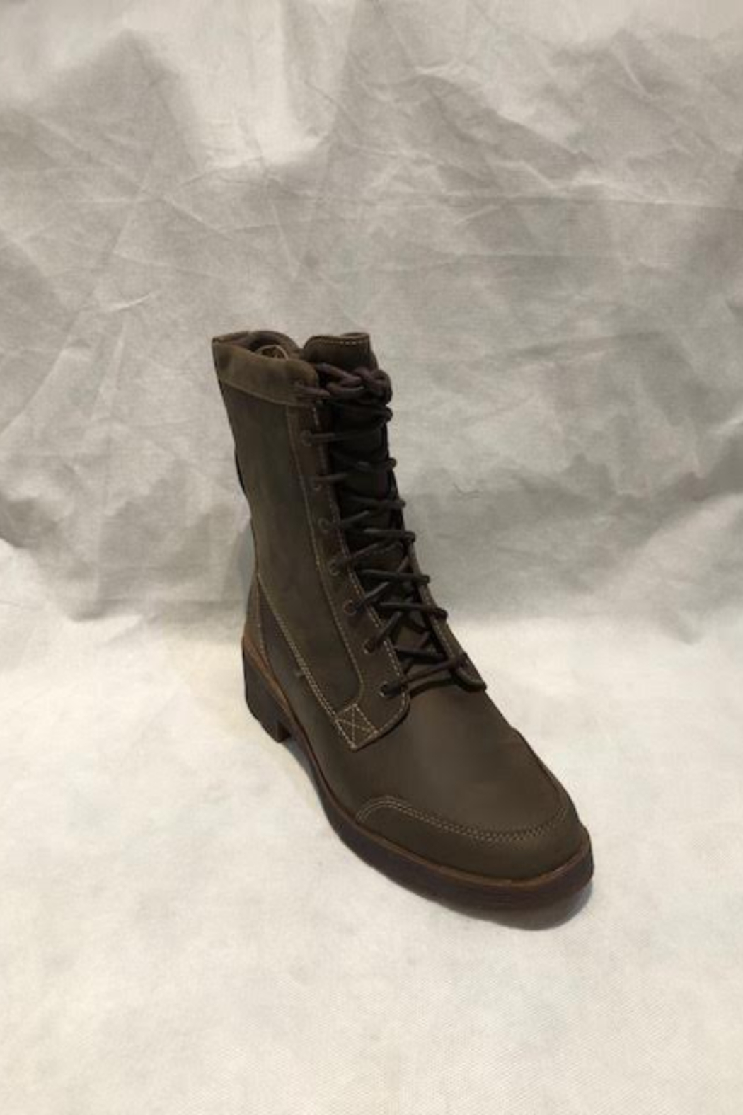 Timberland Graceyn Waterproof Mid Lace Up Boot - Front Full Image