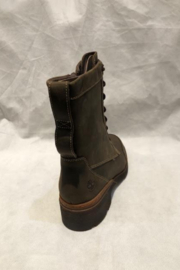 Timberland Graceyn Waterproof Mid Lace Up Boot - Side cropped