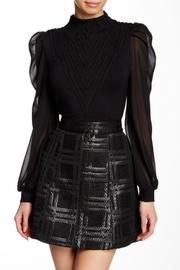Gracia Bishop Sleeve Blouse - Front cropped