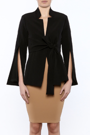 Gracia Black Trendy Blazer - Product Mini Image