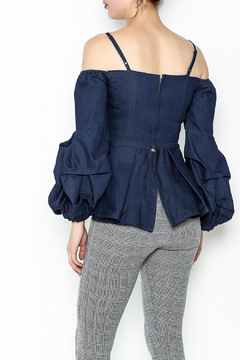 Gracia Cold Shoulder Top - Alternate List Image