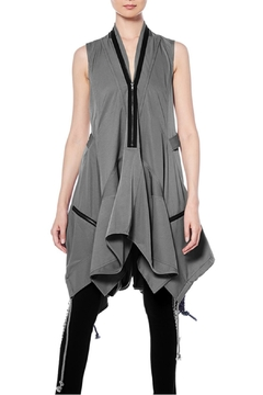 Gracia Drawstring Zipper Dress - Product List Image