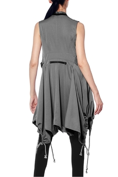 Gracia Drawstring Zipper Dress - Alternate List Image