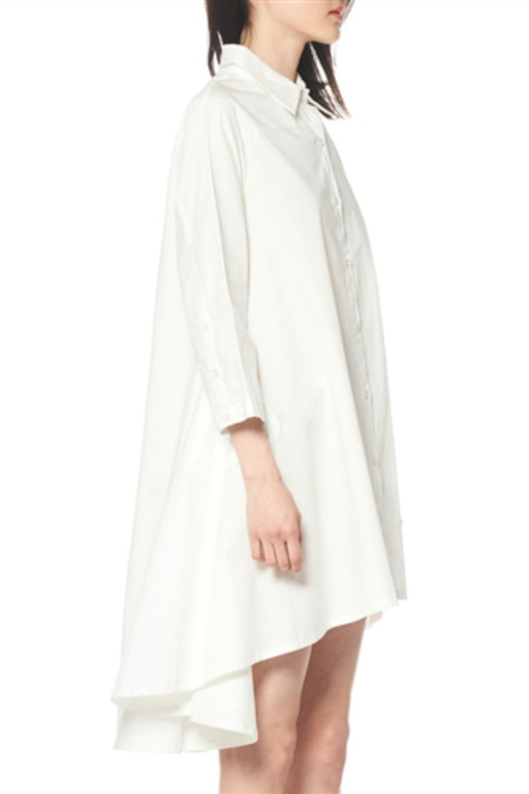 Gracia Flare Long Sleeve Dress - Front Full Image