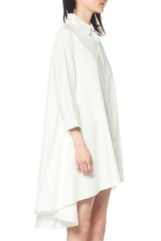 Gracia Flare Long Sleeve Dress - Front full body