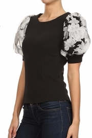 Gracia Floral Sleeve Top - Product Mini Image