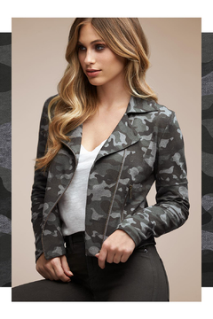Tart Collections Gracia French Terry Moto Jacket - Product List Image
