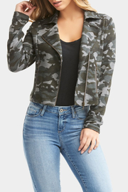 Tart Collections Gracia French Terry Moto Jacket - Side cropped