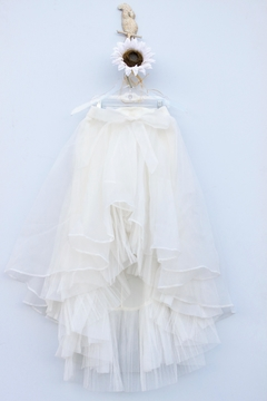 Gracia High-Low Organza Skirt - Alternate List Image