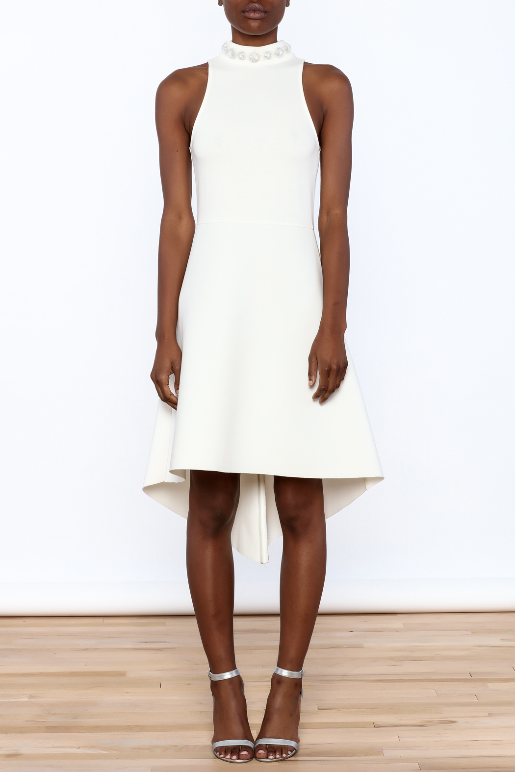 Gracia High Neck Dress - Front Cropped Image