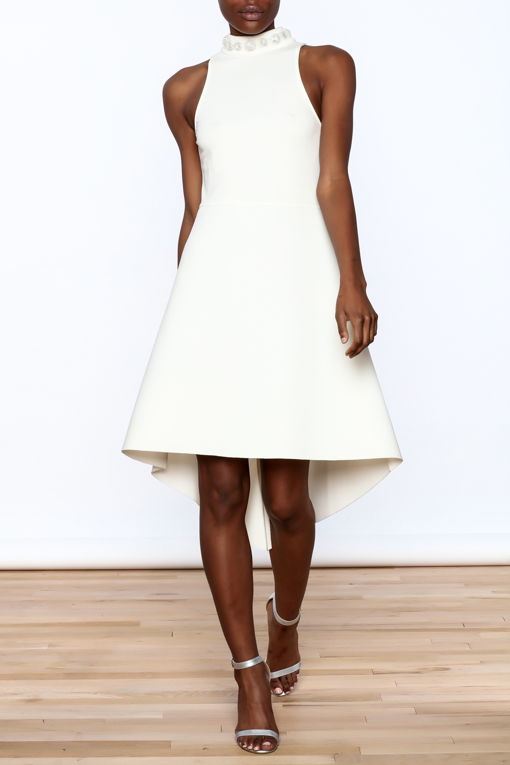 Gracia High Neck Dress - Front Full Image