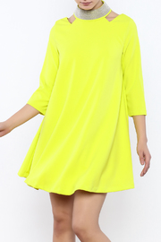 Gracia High Neck Dress - Product Mini Image