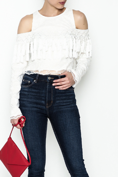 Gracia Lace Crop Top - Product List Image