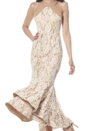 Gracia Lace Mermaid Dress - Product Mini Image