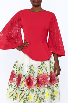 Gracia Lace-Sleeved Top - Product List Image
