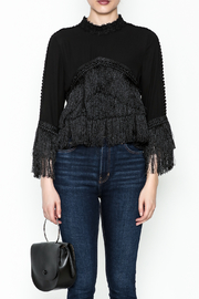 Gracia Layered Fringe Top - Front full body