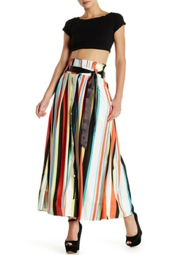 Gracia Multicolor/stripe Maxi Skirt - Product List Image