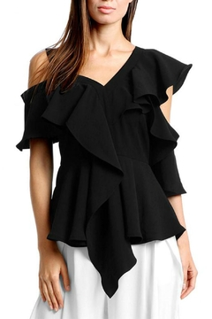 Gracia Off-Shoulder Ruffle Top - Product List Image