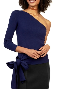 Gracia Ribbed One Shoulder Top - Product List Image