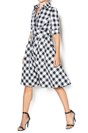 Gracia Plaid Dress - Product Mini Image