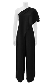 Gracia Ruffle Layered Jumpsuit - Front cropped