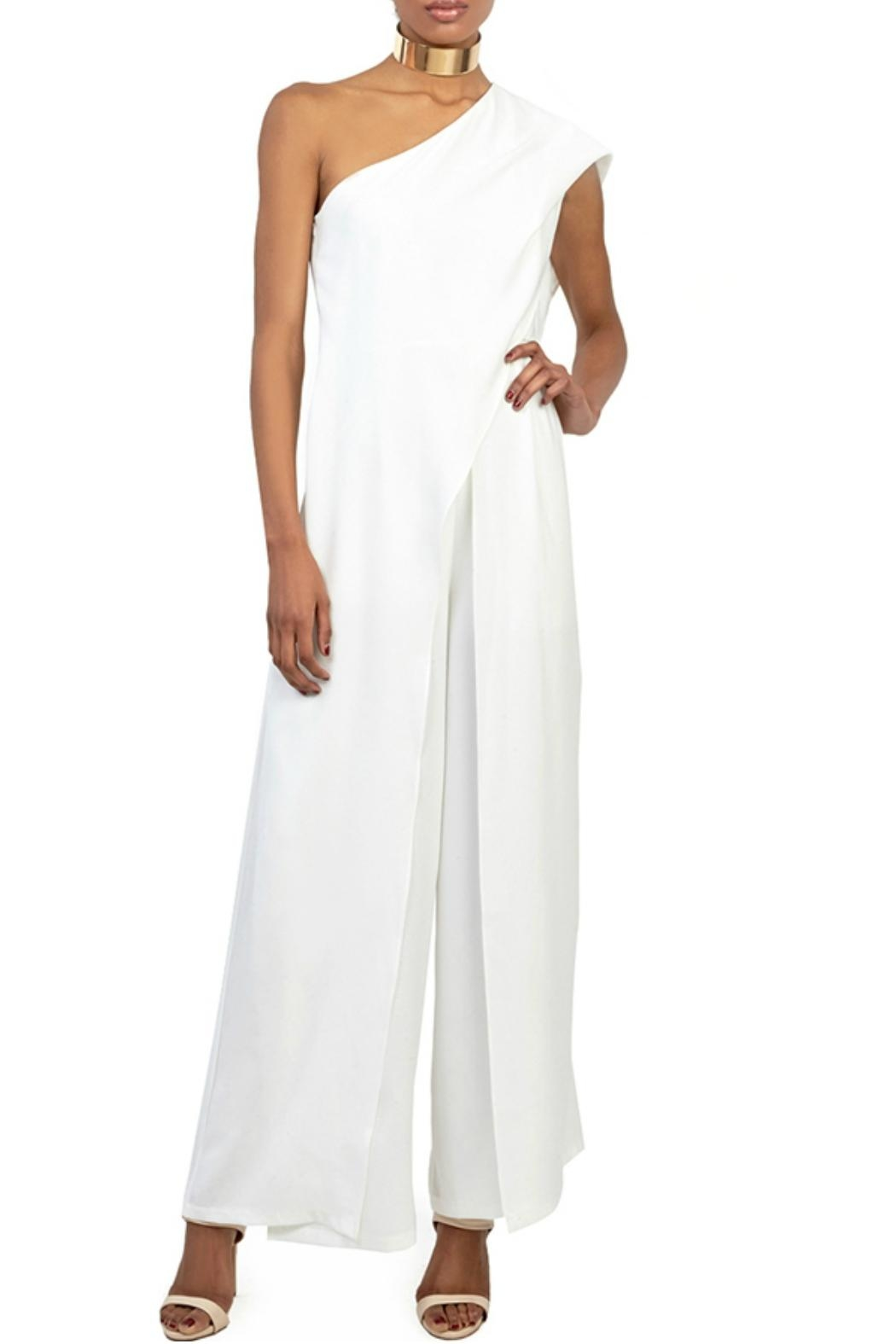 Gracia Ruffle Layered Jumpsuit - Main Image